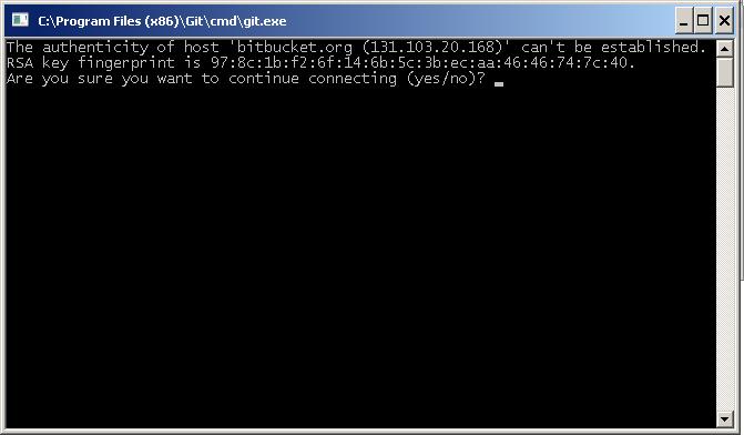 Выгрузка в репозитории Git