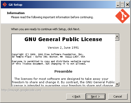Установка Git
