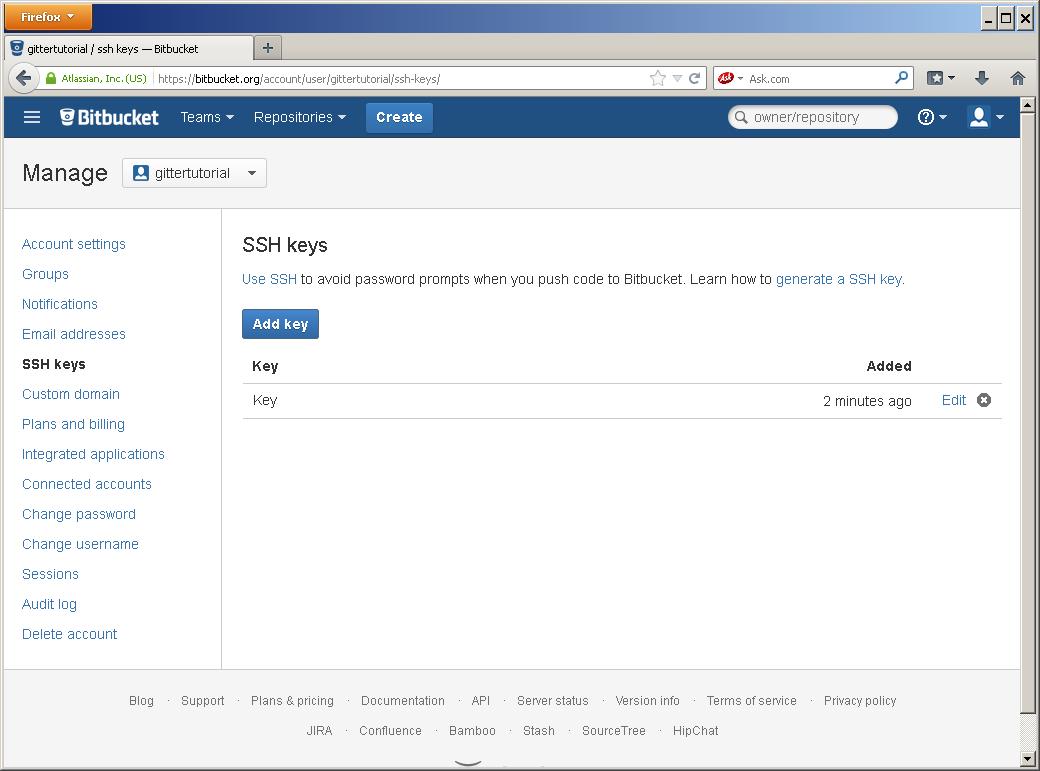 Настройка доступа по SSH